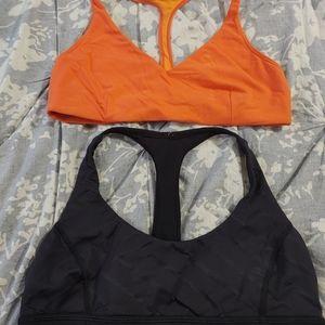 Lululemon sports bra bundle size 10